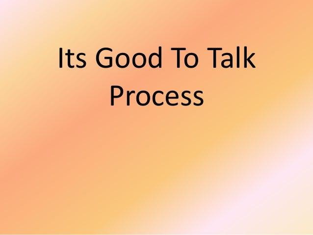Its Good to Talk (1998)
