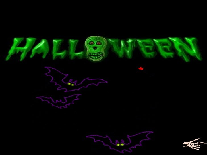 I t's halloween