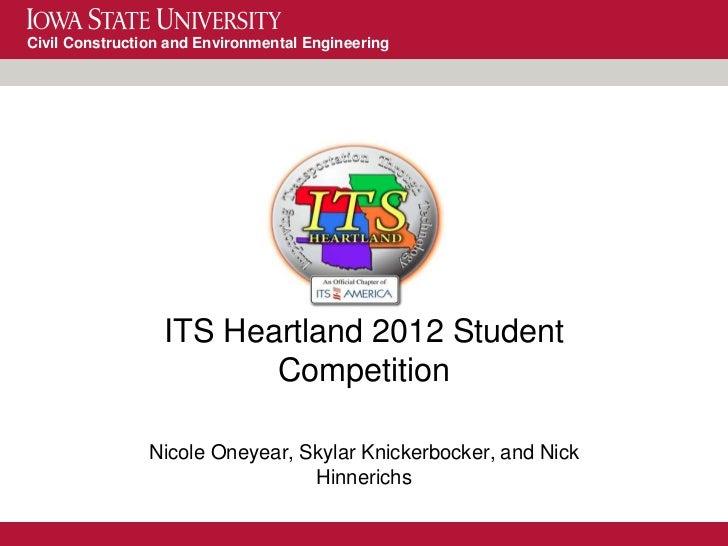 Student Presentation- ISU