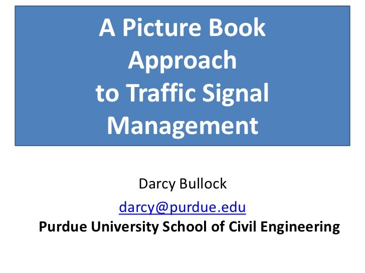 ATIS: A Picture Book Approach to Traffic Signal Management