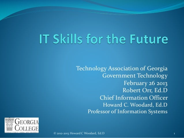 IT Skills for the Future Event