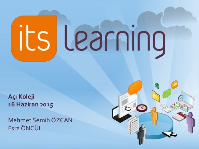Itslearning presentation for Itslearning