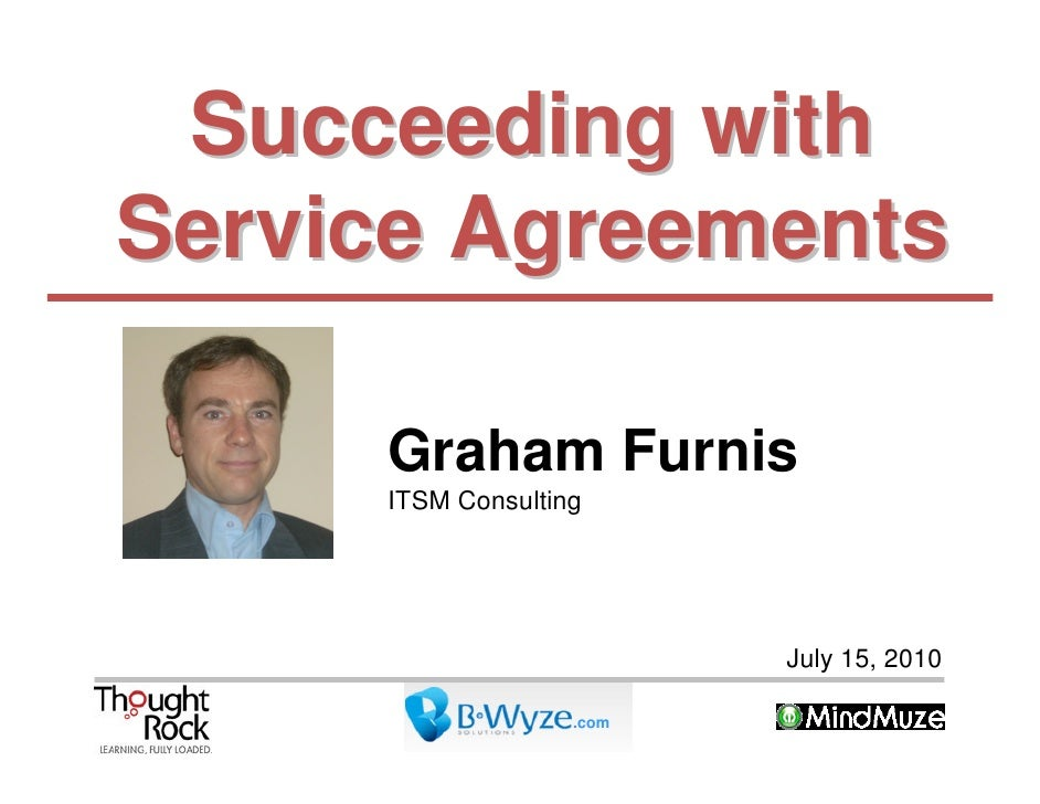 Succeeding with Service Agreements