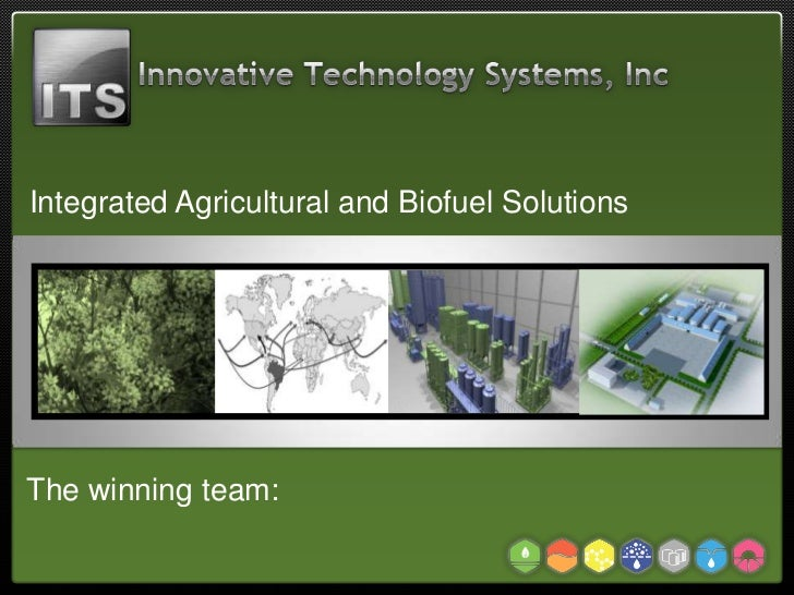 Integrated Agricultural and Biofuel Solutions                         Services                         ServicesThe winning...