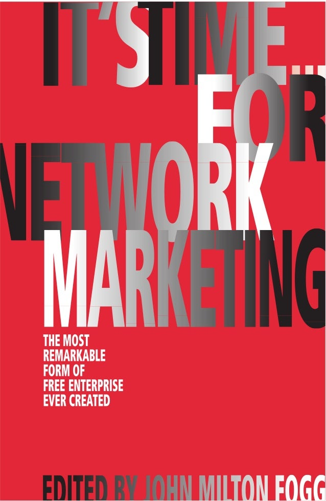 Its time for network marketing