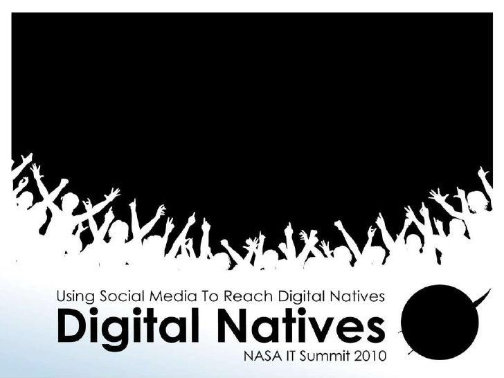 Using Social Media Tools to Reach Digital Natives