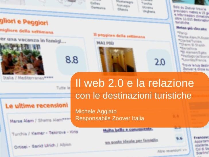 Il web 2.0 per le destinazioni