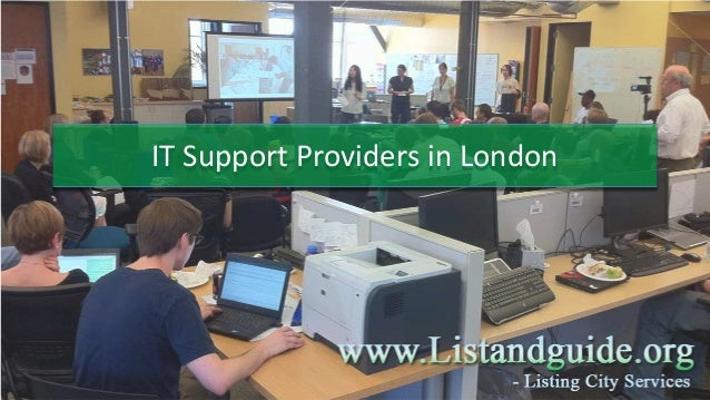 IT Support Providers in London