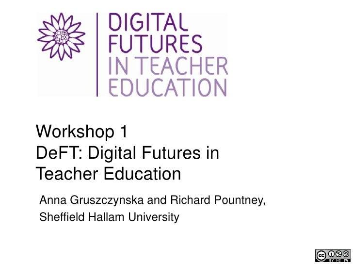 Digital Futures in Teacher Education workshop