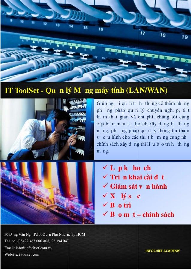 Quản lý Mạng máy tính (LAN/WAN)
