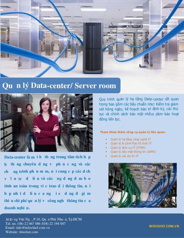 Quản lý Data-center/ Server room