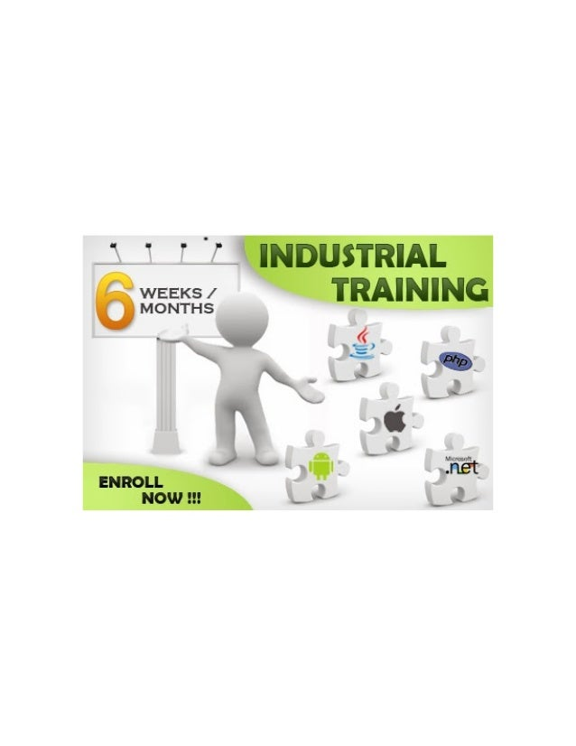 Six Month Industrial Training Noida...Call @ 9650482444
