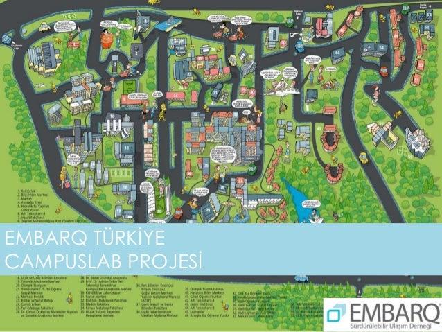 İTÜ Campus Lab Project - Planning and Design - Tolga İmamoğlu - EMBARQ Turkey