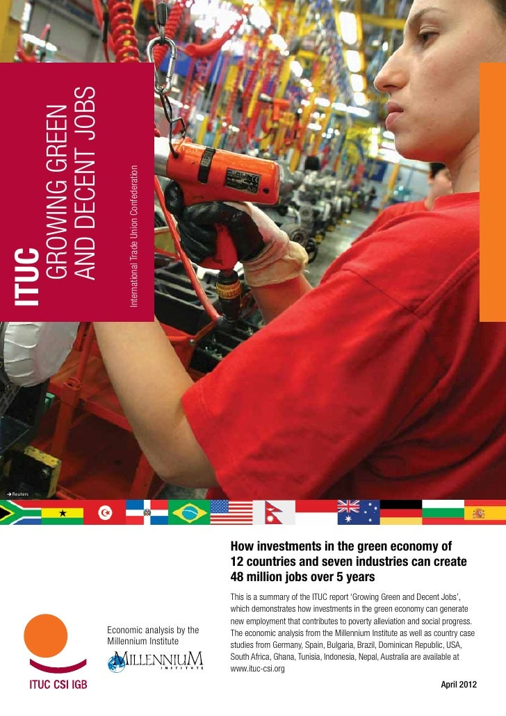 ITUC Green Jobs Summary