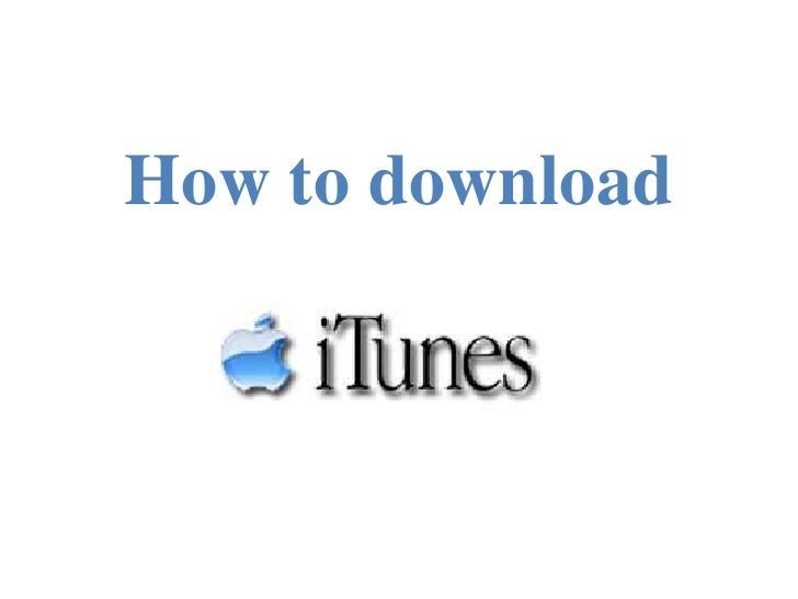 How to download<br />
