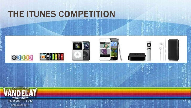 THE ITUNES COMPETITION