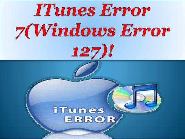 Windows error 127 - a0b0c