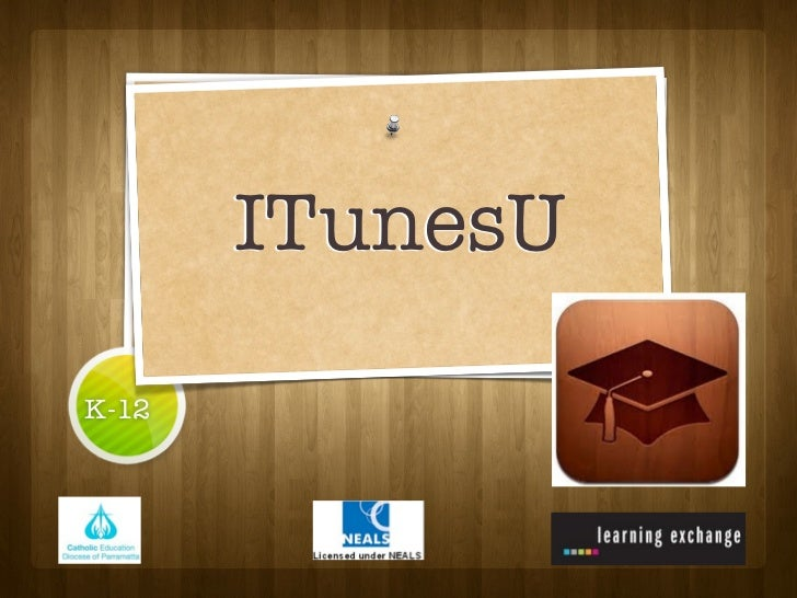 iTunesU: a learning platform for schools