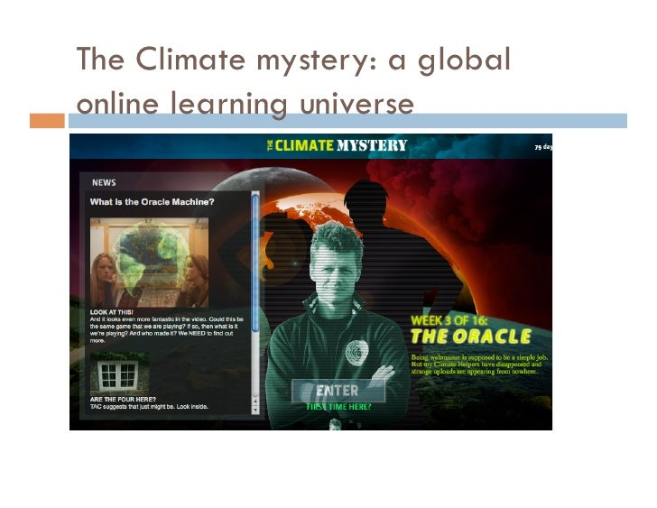 Itu The Climate Mystery