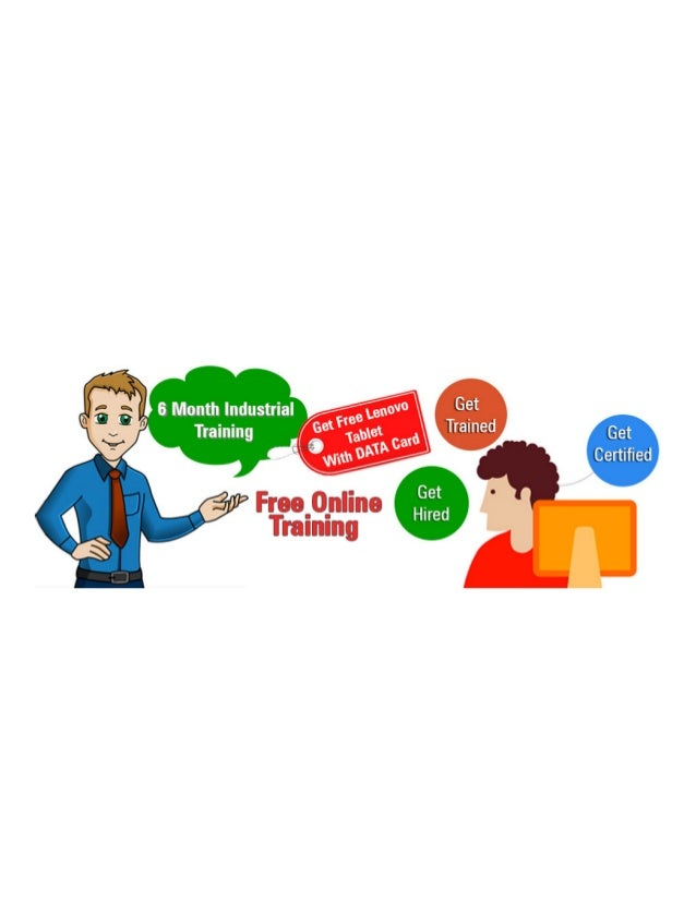 Free Online Six months Industrial Training company in Noida. 9650482444