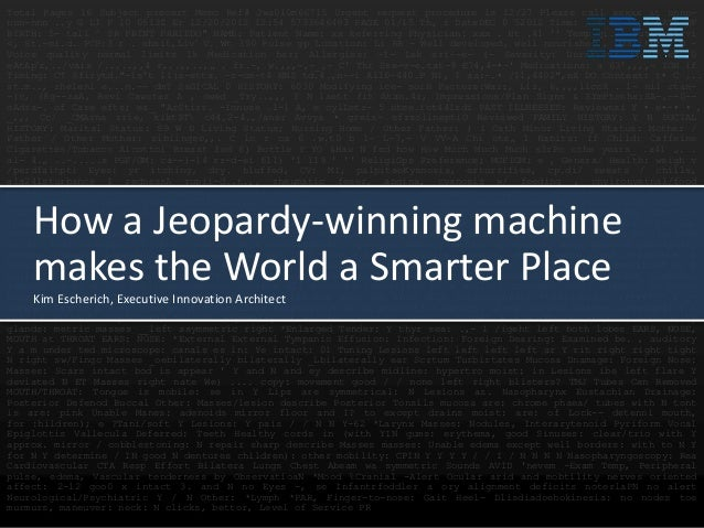 How a Jeopardy-winning machine makes the World a Smarter Place