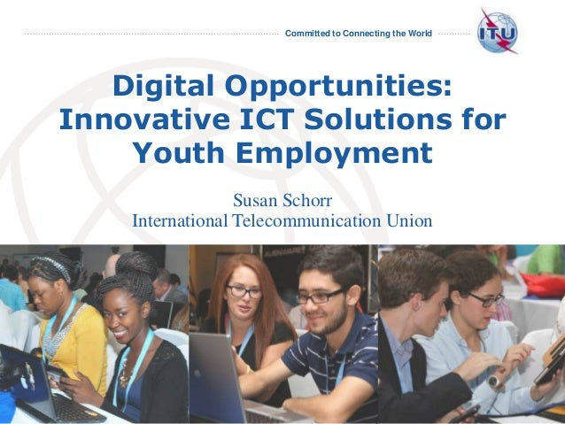 Digital Opportunities: Innovative ICT Solutions for Youth Employment