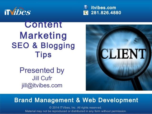 ITVibes Online Content Marketing - Customer Appreciation Day