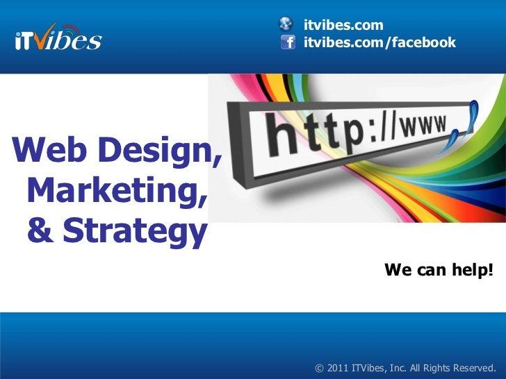 Web Design, Social Media, Search Engine Marketing Services