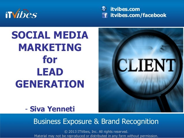 itvibes.com                                                   itvibes.com/facebookSOCIAL MEDIA MARKETING     for    LEAD G...