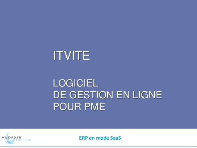 ITvite, logiciel de gestion en ligne pour PME