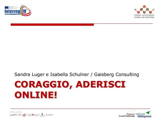 It webinar gaisberg_ital