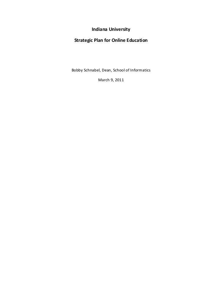 Iu online-educ-strategic-plan-2011