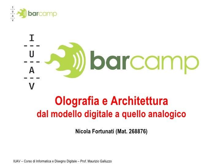 Iuavcamp presentazione definitiva