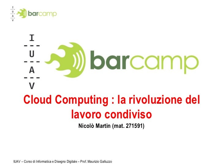 Iuavcamp presentazione