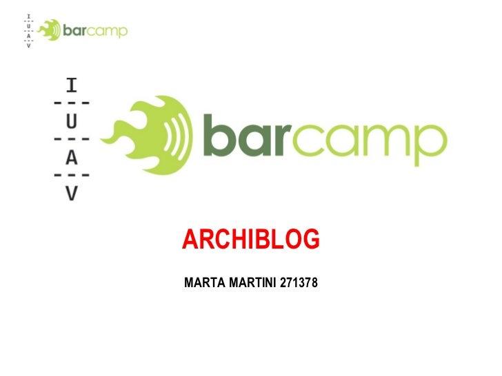 ARCHIBLOG MARTA MARTINI 271378