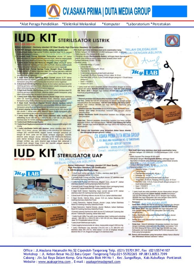Pengadaan IUD KIT - LPSE ~ Lelang IUD KIT DAK 2015 ~   iud kit dak Bidang KB tahun 2015