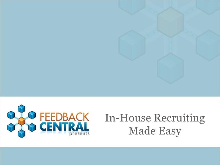 In-House Recruiting Made Easy