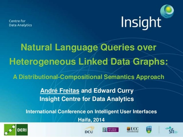 Natural Language Queries over Heterogeneous Linked Data Graphs: A Distributional-Compositional Semantics Approach