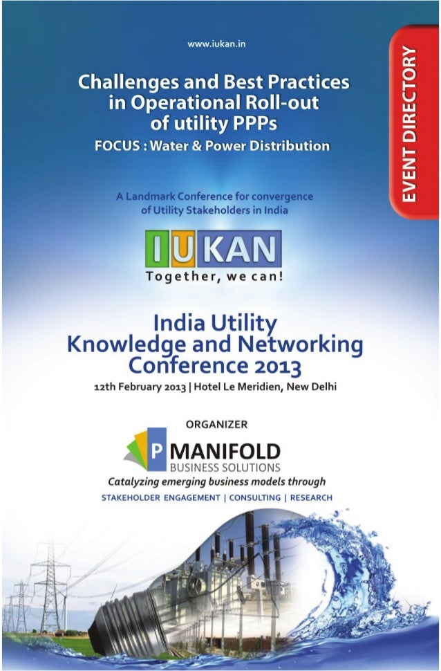 IUKAN Conference 2013 - Event Directory