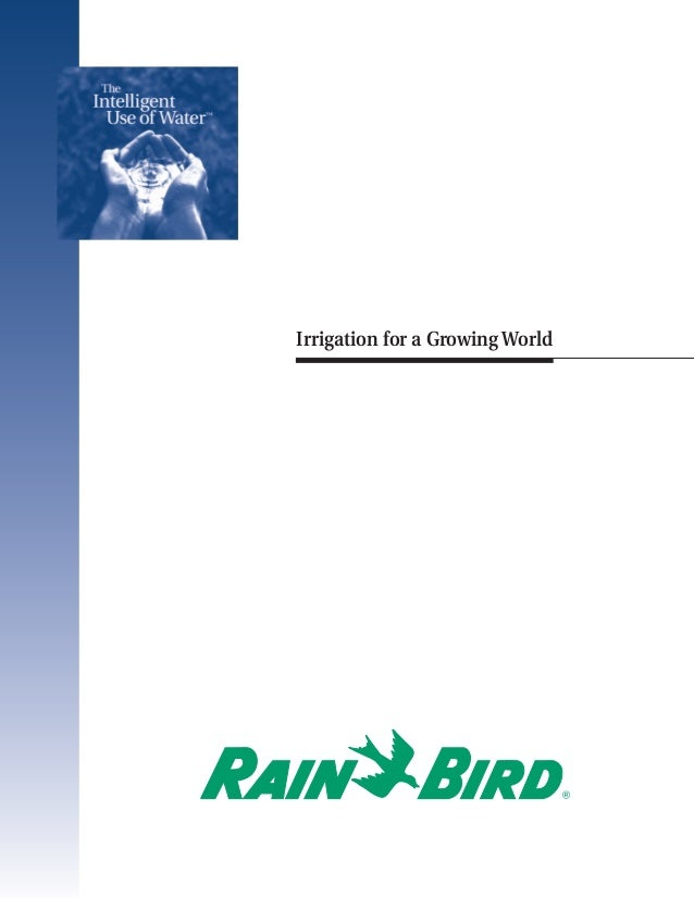 IUOW   5/12/04   8:25 PM   Page 1                                    Irrigation for a Growing World