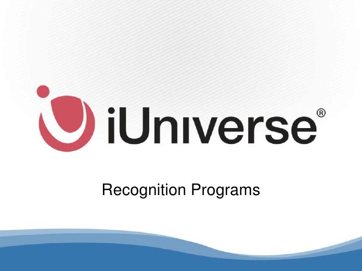 iUniverse Recognition Programs