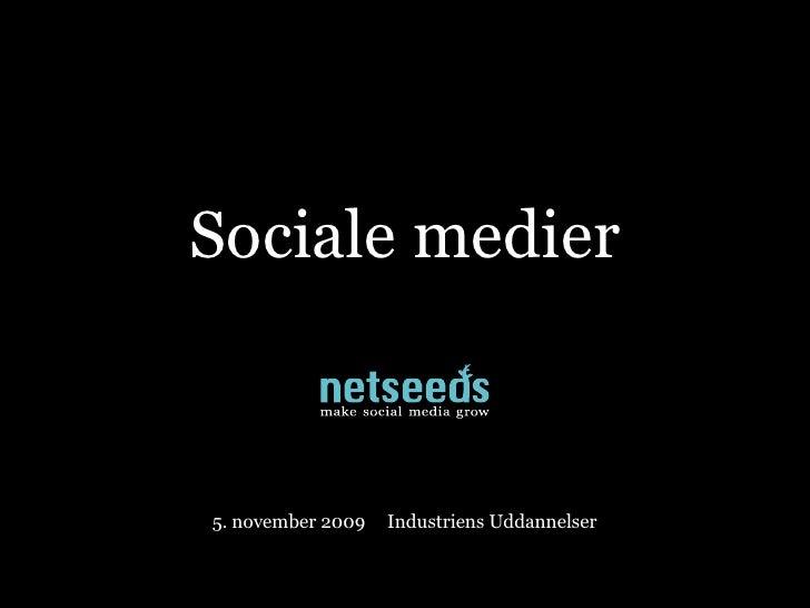 Professionel brug af sociale medier