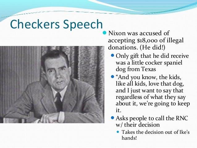 nixon checkers speech