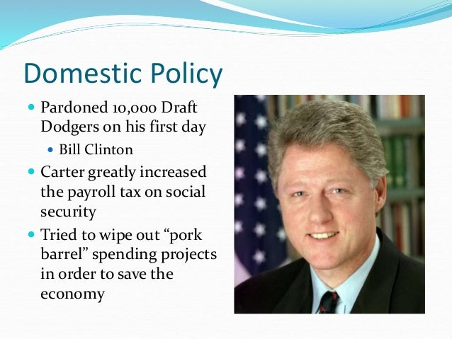 Iv 5 carter domestic policy