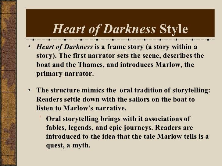 Characteristics of heart of darkness