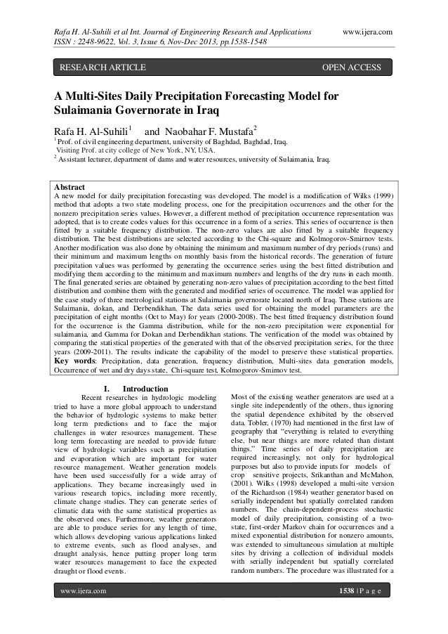 Rafa H. Al-Suhili et al Int. Journal of Engineering Research and Applications ISSN : 2248-9622, Vol. 3, Issue 6, Nov-Dec 2...