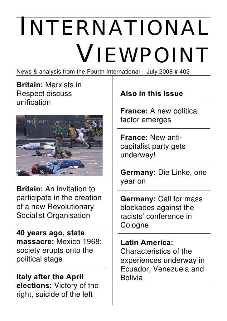 International Viewpoint Iv402 July 2008