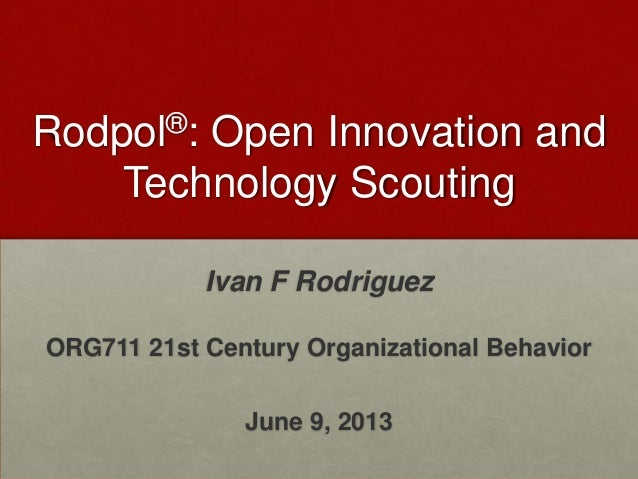 Ivan f rodriguez theory in action collaborative innovation