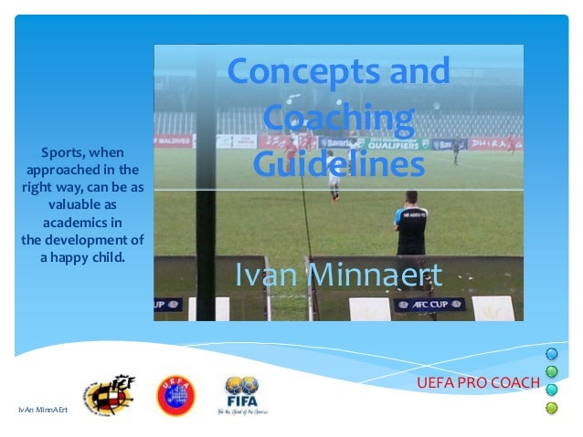 Ivan minnaert concepts and coaching guidelines