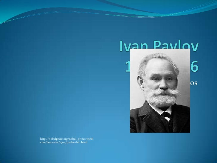 short biography ivan pavlov essay